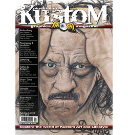 Pinstriping & Kustom Graphics magazine Pinstriping & Kustom graphics magazine #54