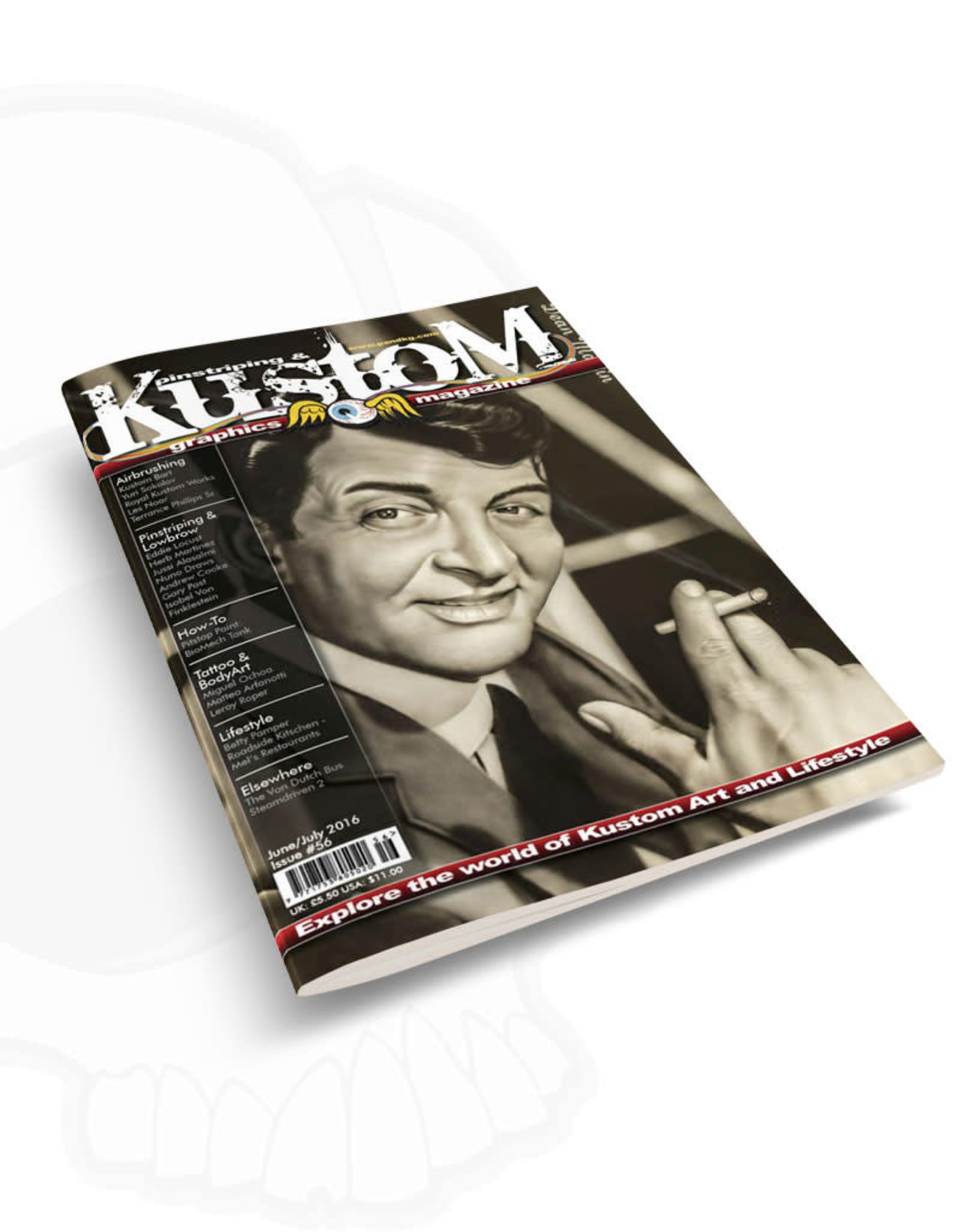 Pinstriping & Kustom Graphics magazine Pinstriping & Kustom graphics magazine #56