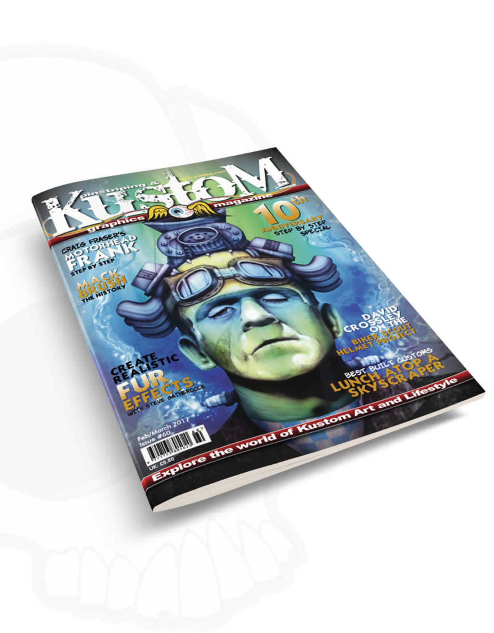 Pinstriping & Kustom graphics magazine Pinstriping & Kustom graphics magazine #60