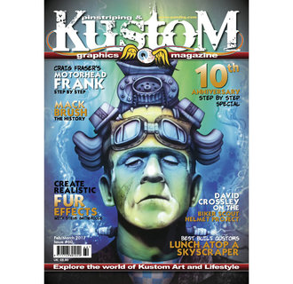 Pinstriping & Kustom graphics magazine #60