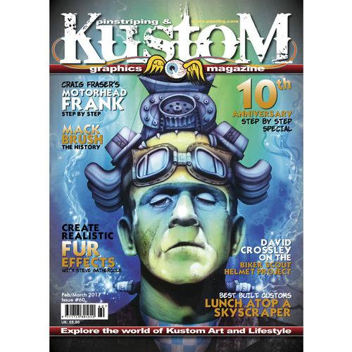 Pinstriping & Kustom Graphics magazine Pinstriping & Kustom Graphics magazine 60