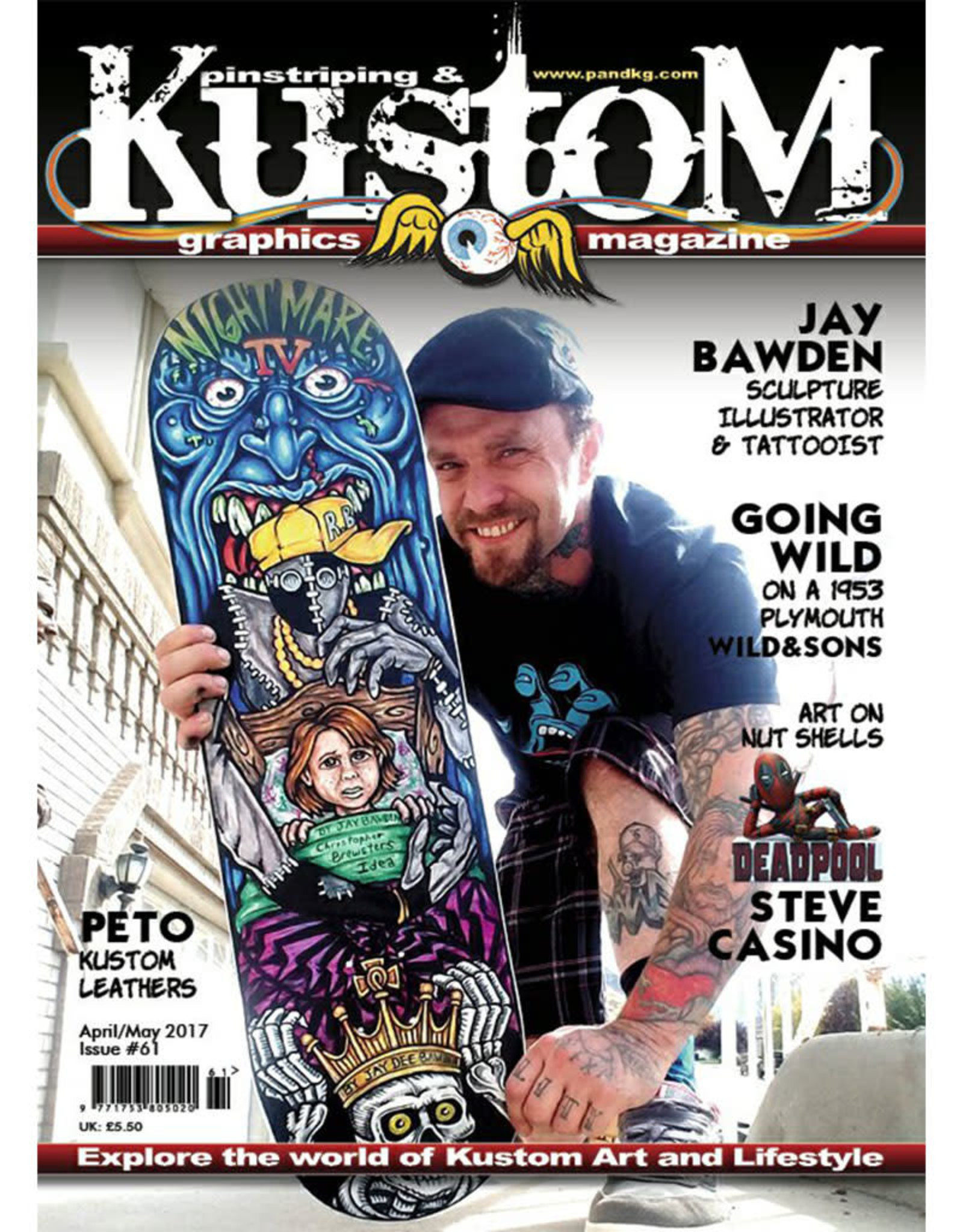 Pinstriping & Kustom Graphics magazine Pinstriping & Kustom graphics magazine #61
