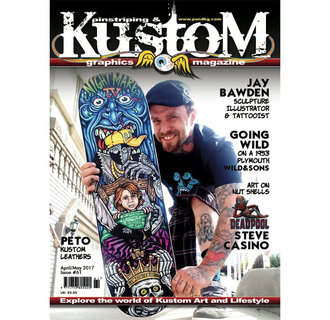 Pinstriping & Kustom graphics magazine #61