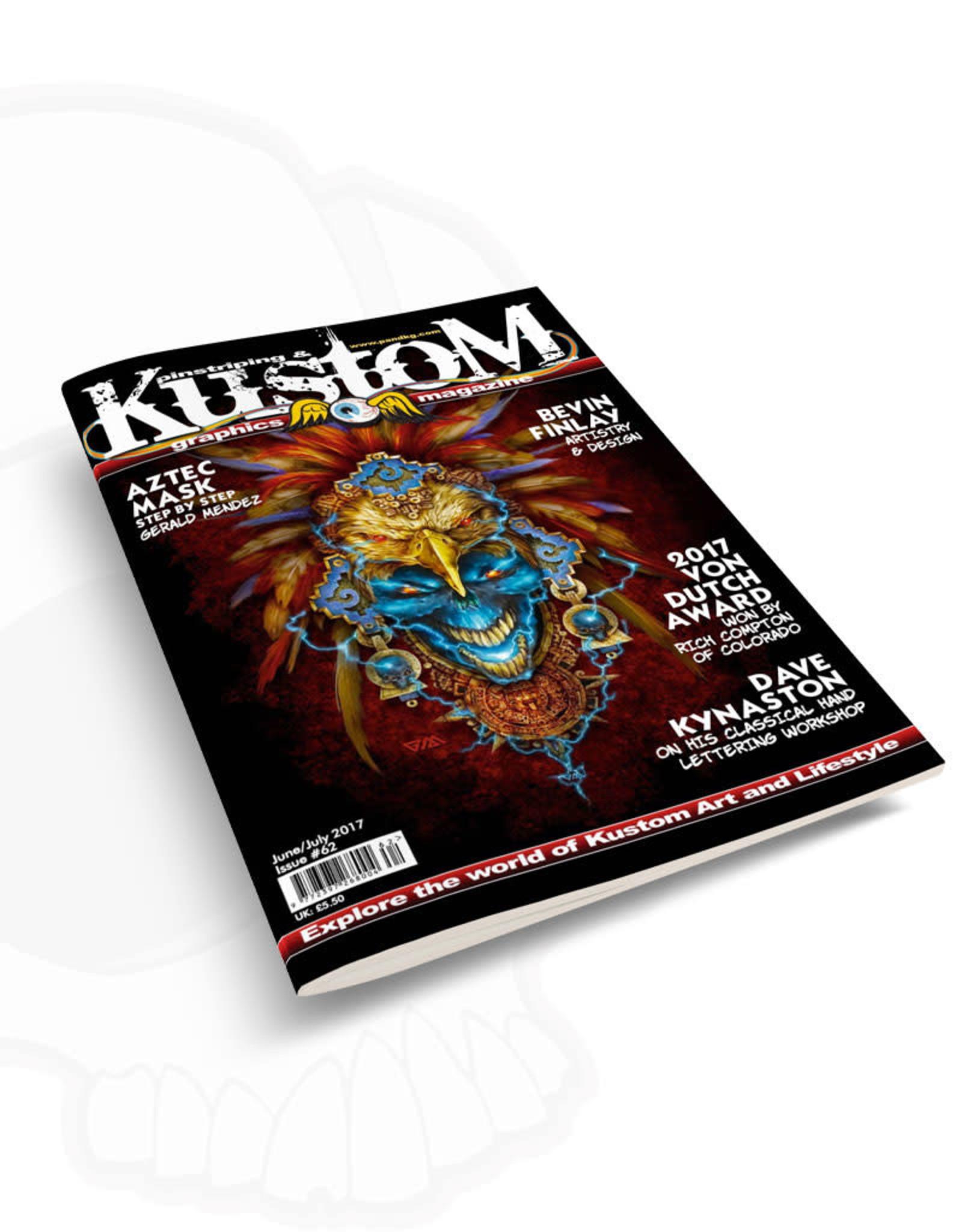 Pinstriping & Kustom Graphics magazine Pinstriping & Kustom graphics magazine #62