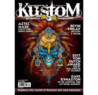 Pinstriping & Kustom graphics magazine #62