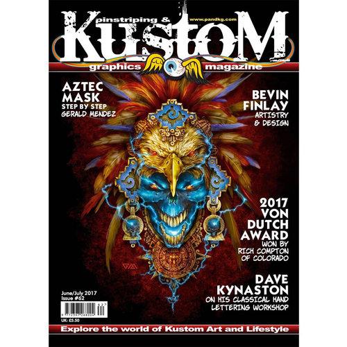 Pinstriping & Kustom Graphics magazine Pinstriping & Kustom Graphics magazine 62