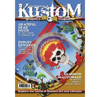 Pinstriping & Kustom Graphics magazine #63