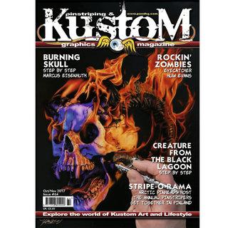 Pinstriping & Kustom Graphics magazine #64