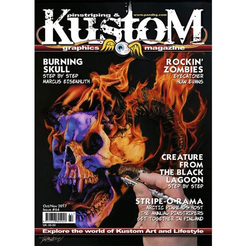 Pinstriping & Kustom Graphics magazine Pinstriping & Kustom Graphics magazine 64