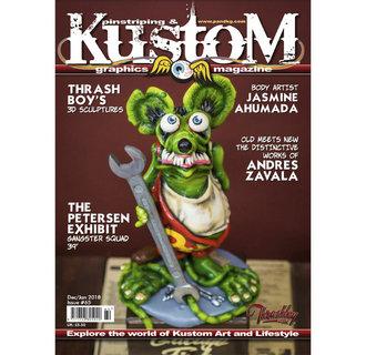 Pinstriping & Kustom Graphics magazine #65