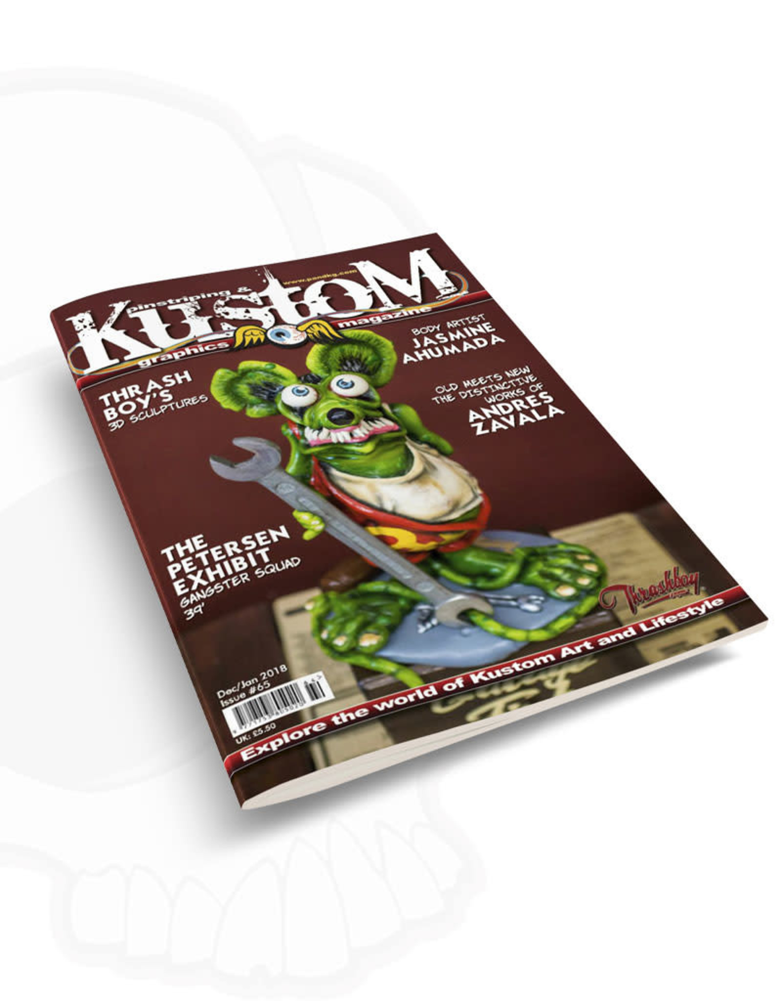 Pinstriping & Kustom Graphics magazine Pinstriping & Kustom Graphics magazine #65