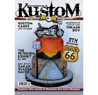 Pinstriping & Kustom Graphics magazine #66