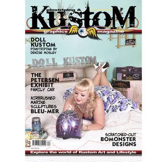 Pinstriping & Kustom Graphics magazine #67