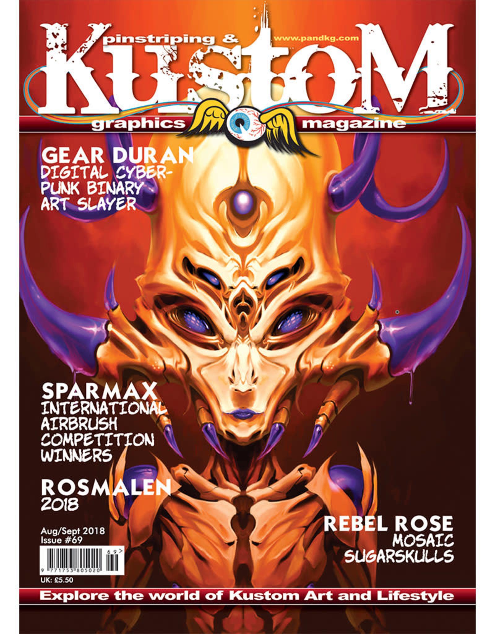 Pinstriping & Kustom Graphics magazine Pinstriping & Kustom Graphics magazine #69