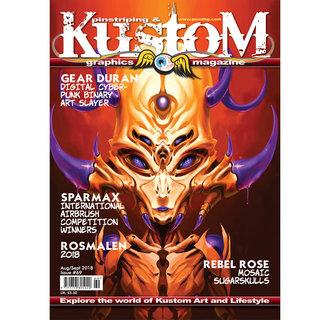 Pinstriping & Kustom Graphics magazine #69