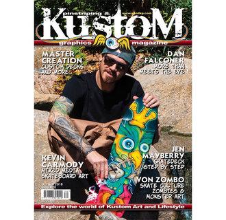 Pinstriping & Kustom Graphics magazine #70
