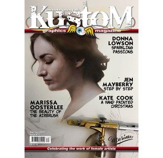 Pinstriping & Kustom Graphics magazine #71