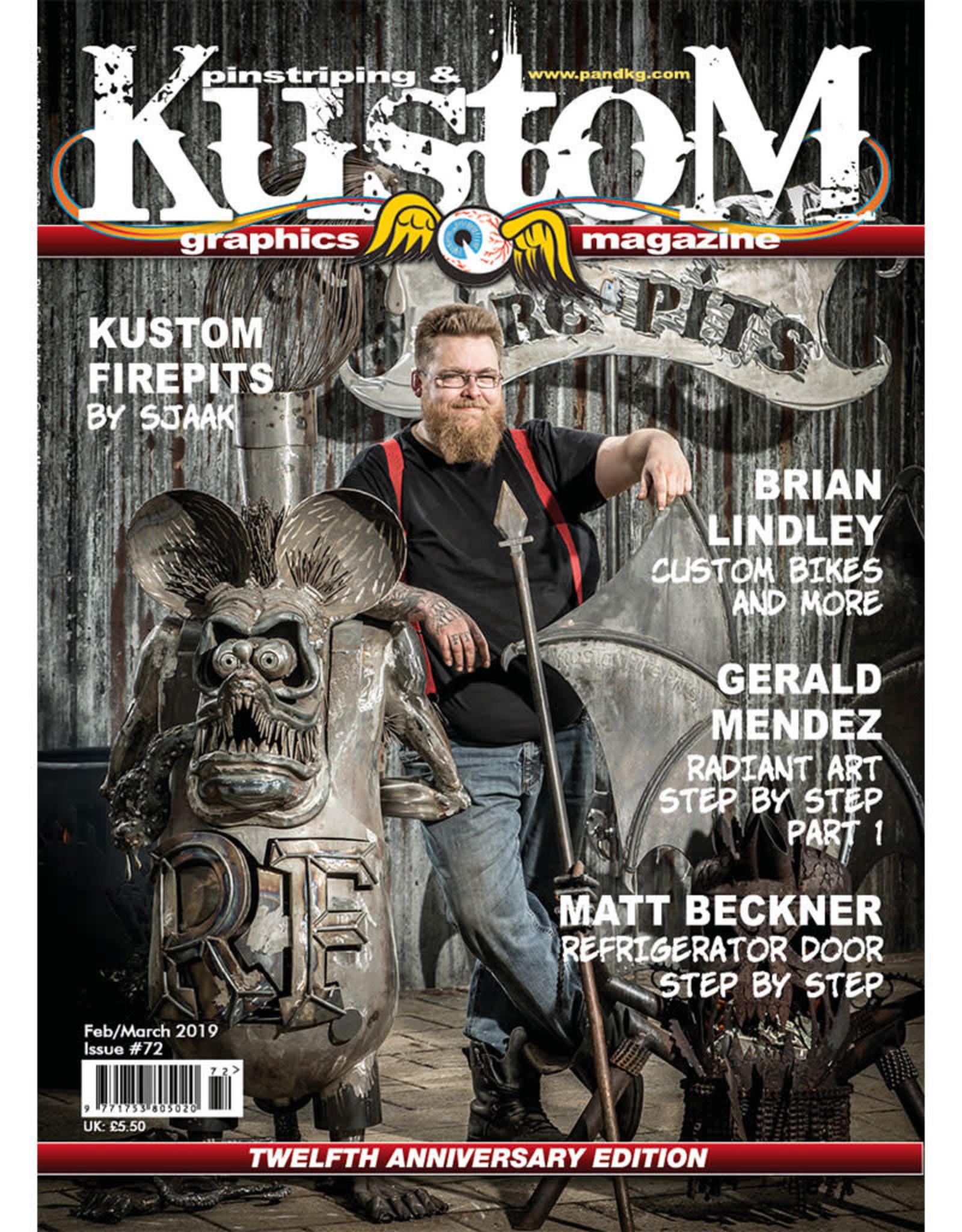 Pinstriping & Kustom Graphics magazine Pinstriping & Kustom Graphics magazine #72
