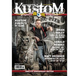 Pinstriping & Kustom Graphics magazine #72