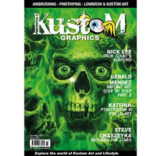 Pinstriping & Kustom Graphics magazine #73