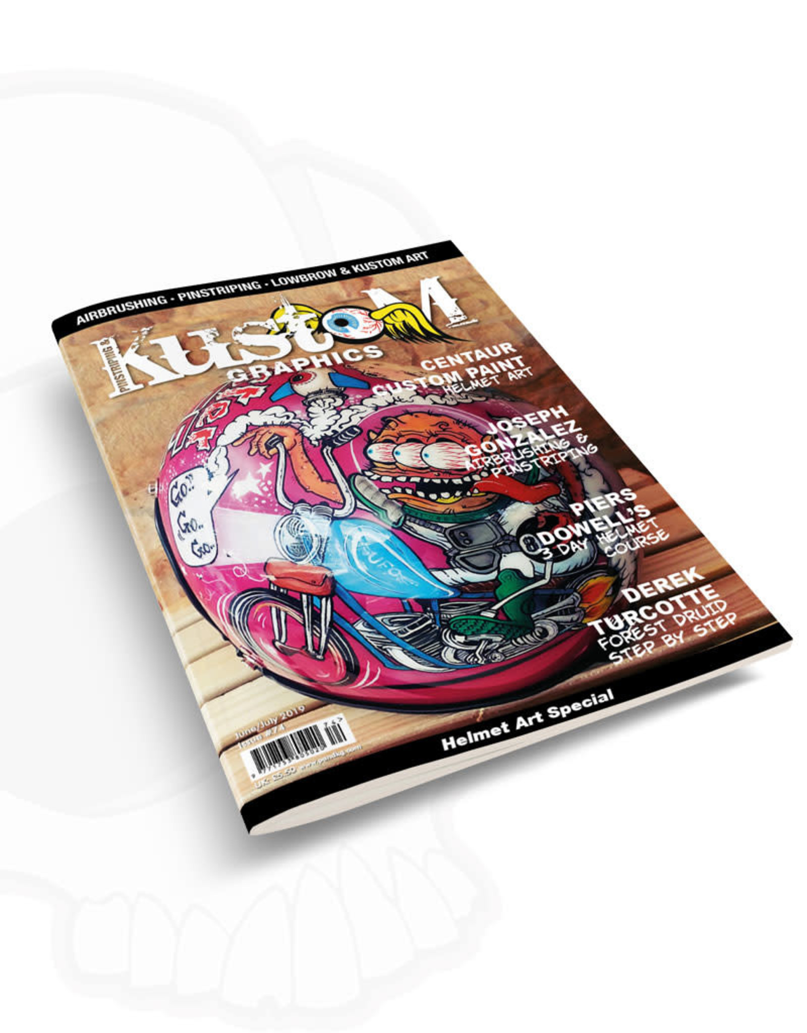 Pinstriping & Kustom Graphics magazine Pinstriping & Kustom Graphics magazine #74