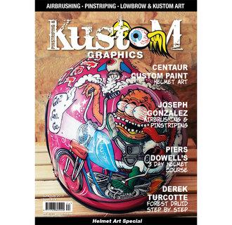 Pinstriping & Kustom Graphics magazine #74