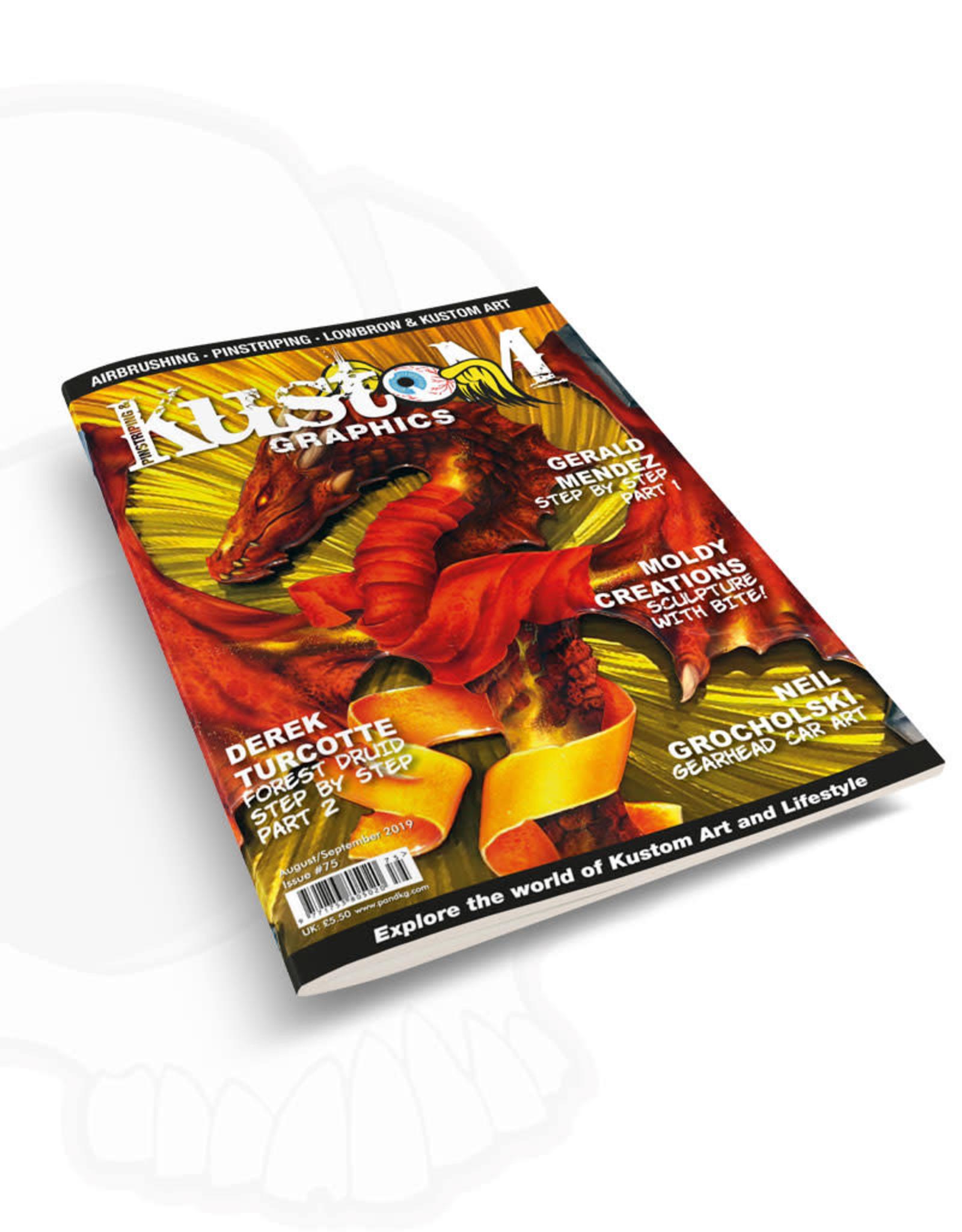 Pinstriping & Kustom Graphics magazine Pinstriping & Kustom Graphics magazine #75
