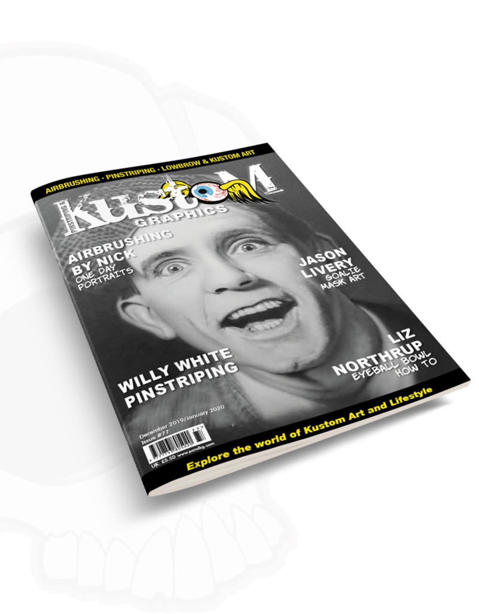 Pinstriping & Kustom Graphics magazine Pinstriping & Kustom Graphics magazine #77