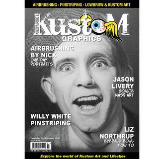 Pinstriping & Kustom Graphics magazine #77