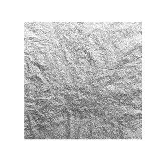 12ct White Gold Leaf Transfer 80 x 80 mm 13g