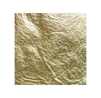23ct Gold Leaf Loose : 80 x 80 mm : Extra Thick 14g