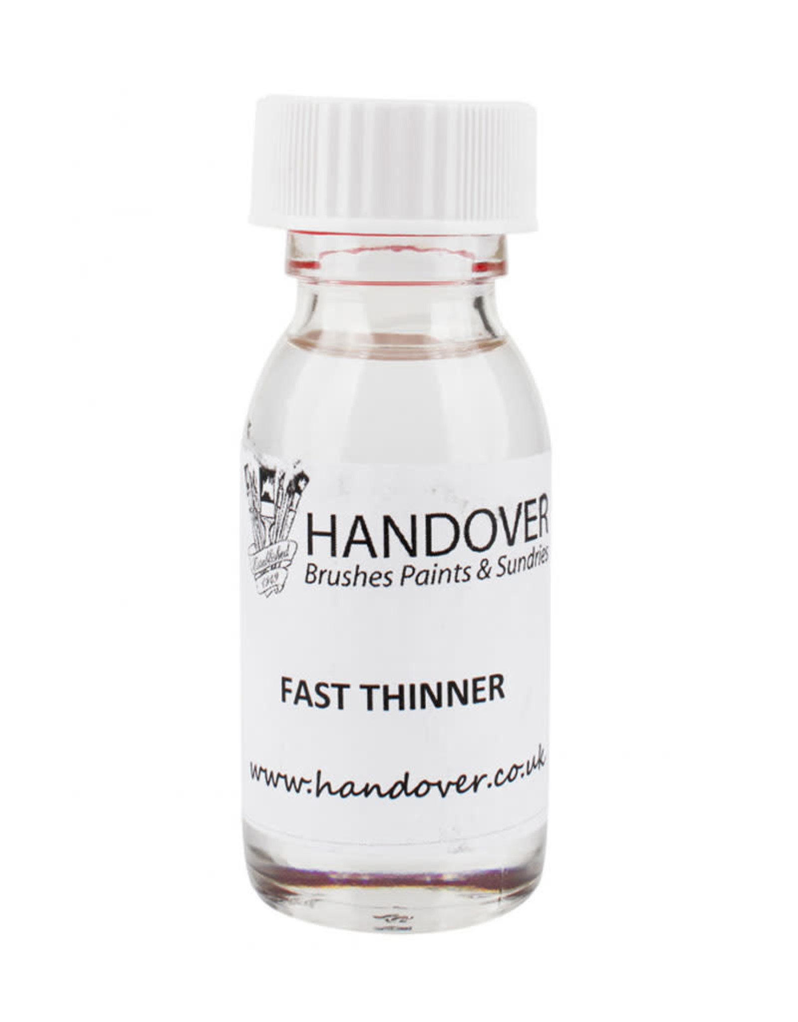 A. S. Handover Handover Glass Paint 60ml Fast Thinner