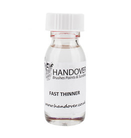 A. S. Handover Glass Paint 60ml Fast Thinner