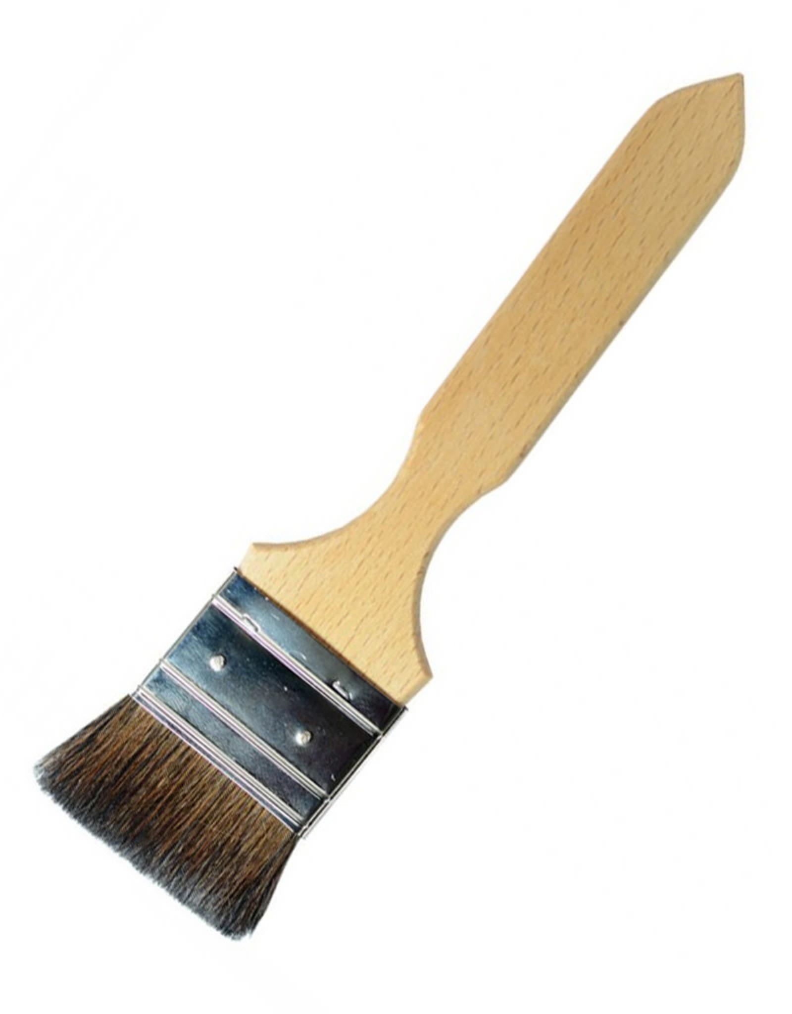 "A. S. Handover Handover Series 698 - Squirrel Hair Flat Laquer Brush Maat: 1.5"" (38mm)"