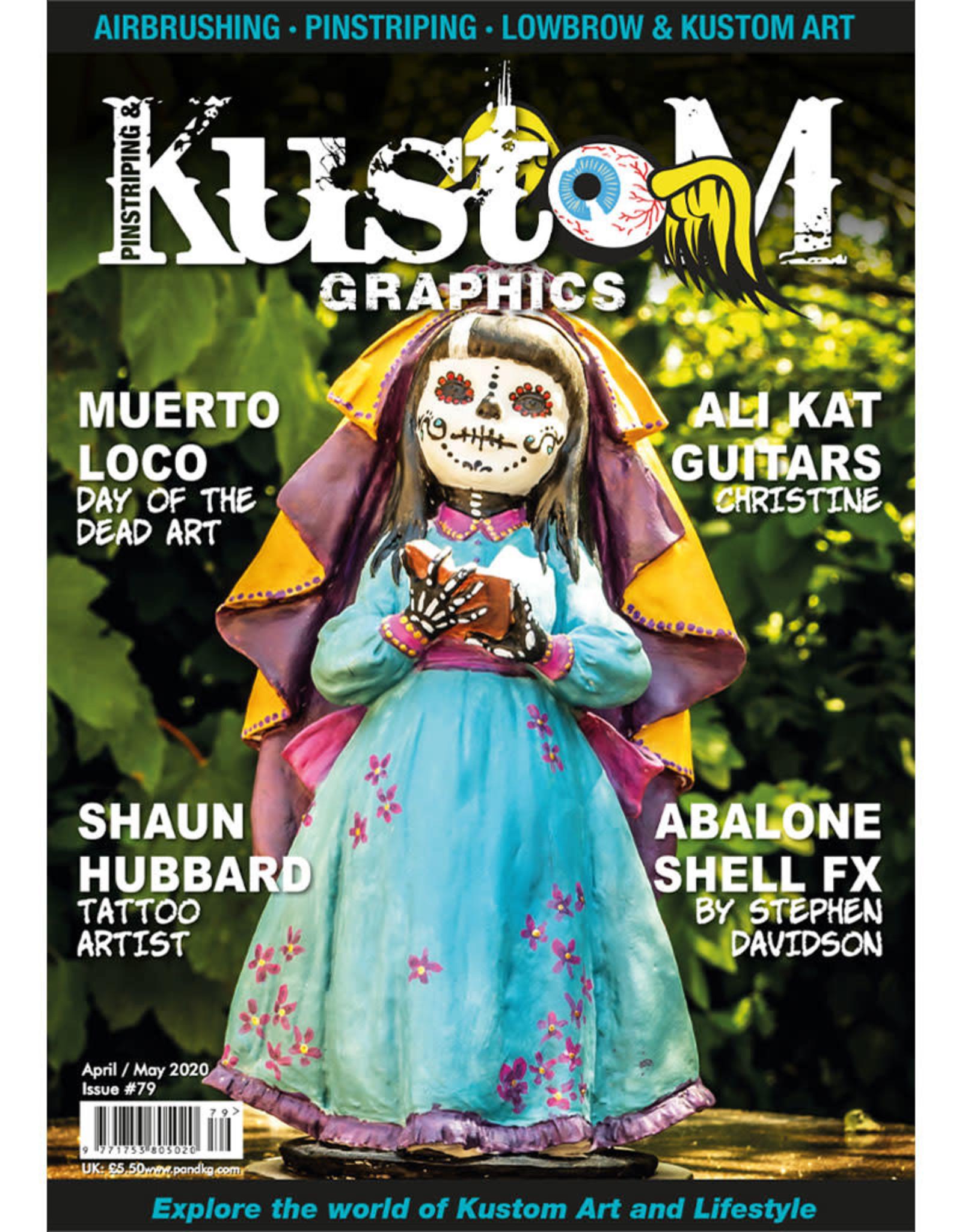 Pinstriping & Kustom graphics magazine Pinstriping & Kustom Graphics magazine #79