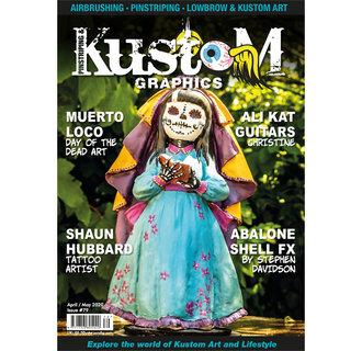 Pinstriping & Kustom Graphics magazine #79