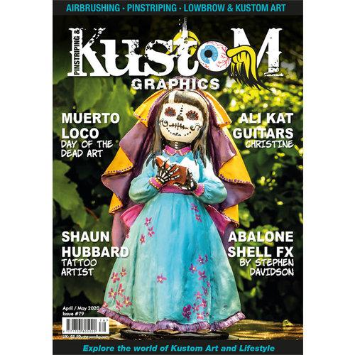 Pinstriping & Kustom Graphics magazine Pinstriping & Kustom Graphics magazine 79
