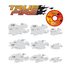 Tru Fire Freehand Airbrush Template by Mike Lavallee