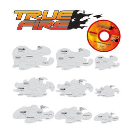 Artool Tru Fire Freehand Airbrush Template by Mike Lavallee