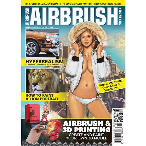 Airbrush Step by Step magazine Airbrush Step by Step magazine 55