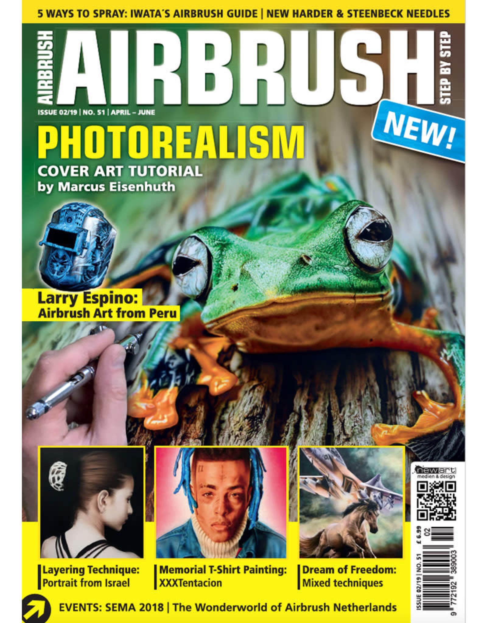 Airbrush Step by Step magazine Airbrush Step by Step Magazine 51