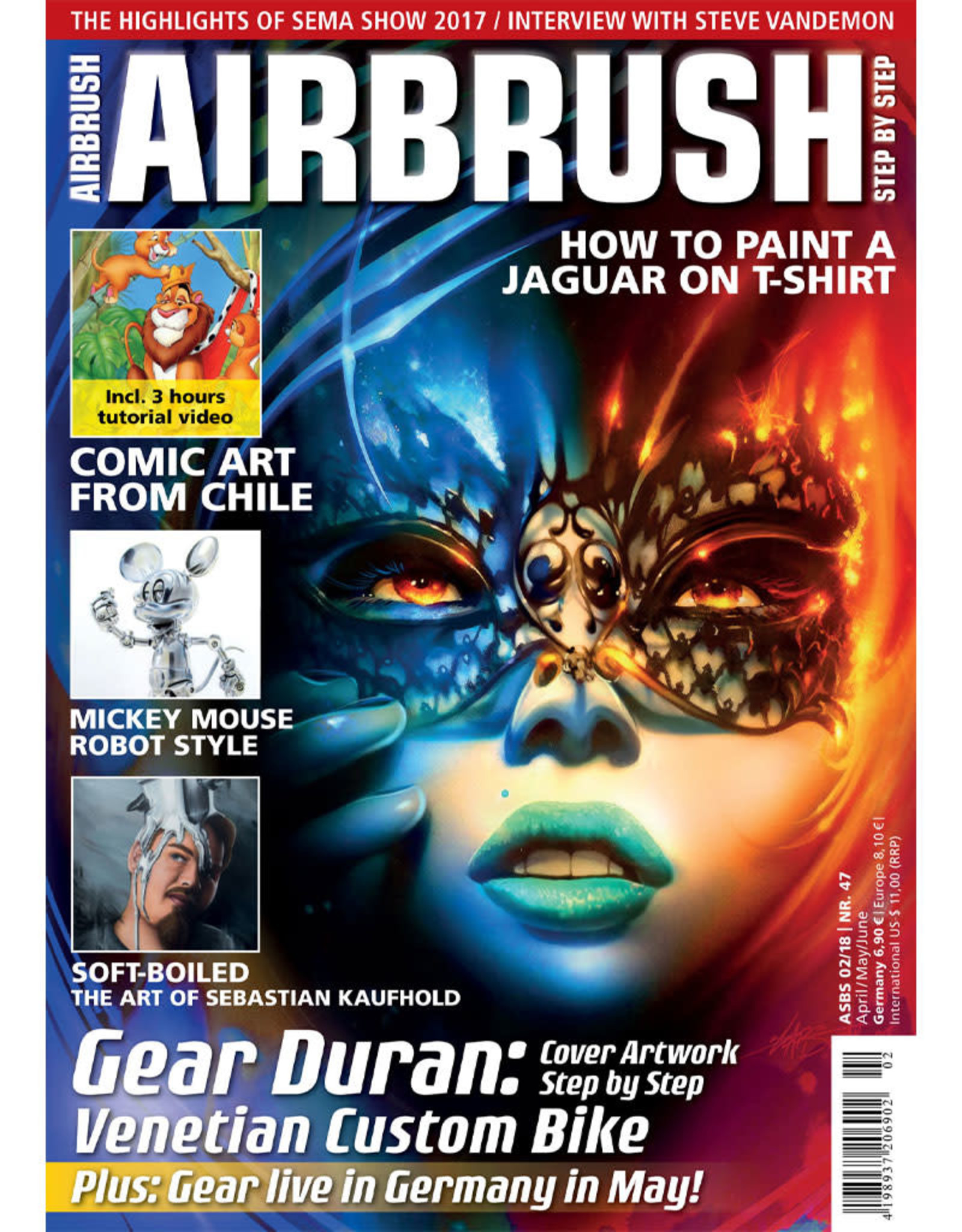 Airbrush Step by Step magazine Airbrush Step by Step Magazine 47