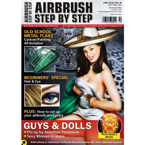 Airbrush Step by Step magazine Airbrush Step by Step Magazine 39