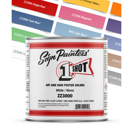 1 Shot Art & Sign Poster Colors