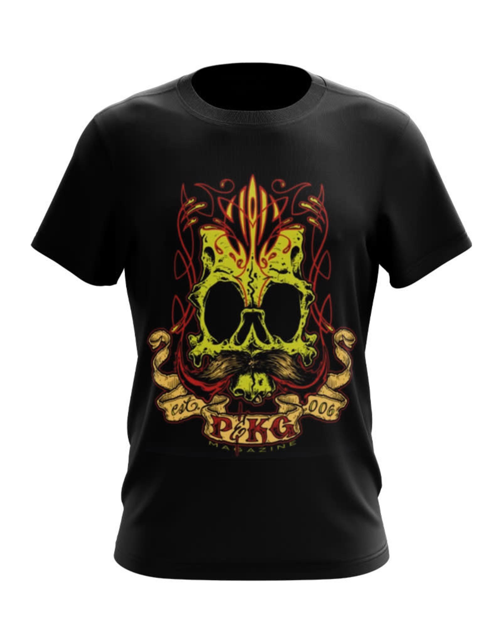 Pinstriping & Kustom graphics magazine Jeral Tidwell PKG T-shirt