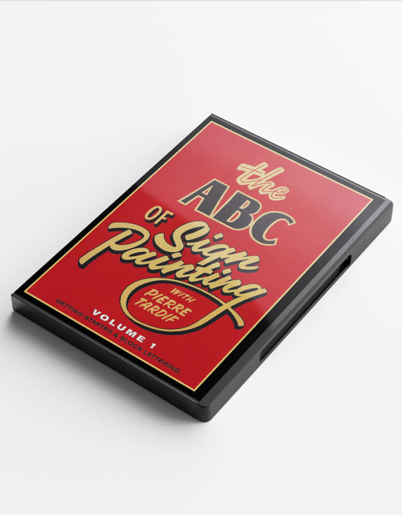 Pierre Tardif The ABC of Sign Painting with Pierre Tardif VOL1