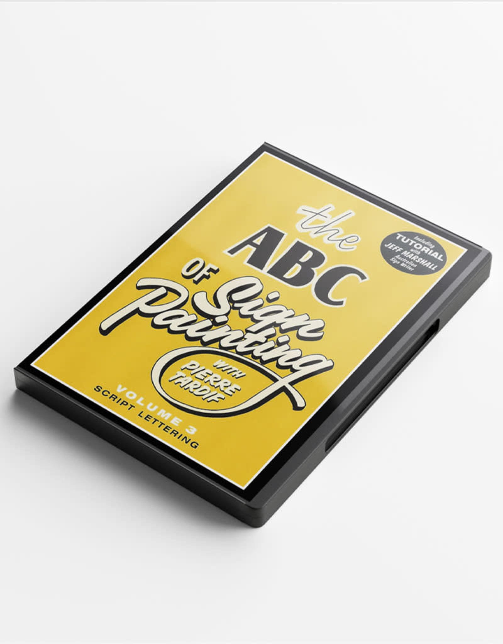 Pierre Tardif The ABC of Sign Painting with Pierre Tardif VOL3