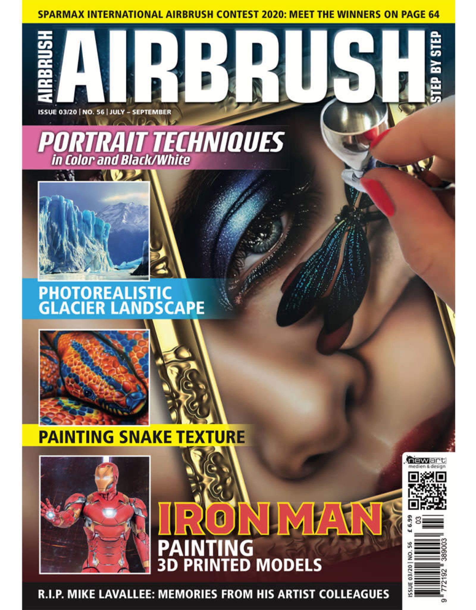 Airbrush Step by Step magazine Airbrush Step by Step magazine 56
