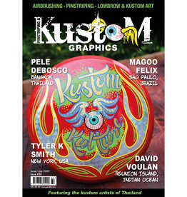 Pinstriping & Kustom Graphics magazine Pinstriping & Kustom Graphics magazine #80