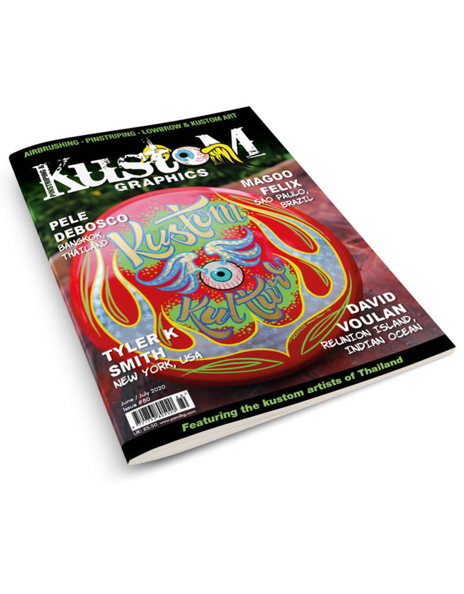 Pinstriping & Kustom Graphics magazine Pinstriping & Kustom Graphics magazine #80